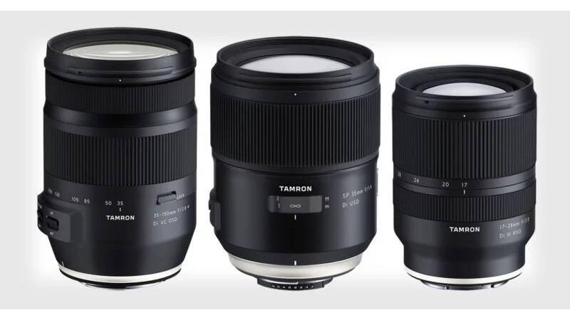 Анонс новых объективов от Tamron: 35-150 мм, 35 мм и 17-28 мм