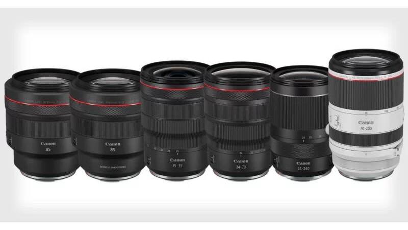 Canon анонсировала разработку шести новых объективов RF