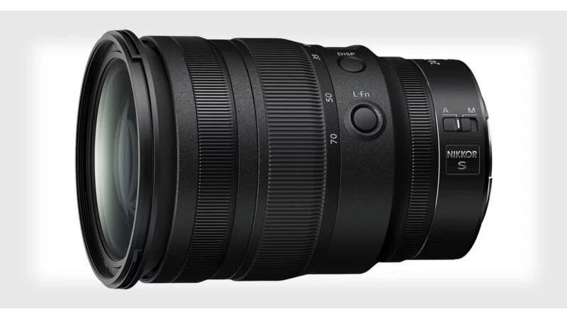 Компания Nikon анонсировала новый объектив NIKKOR Z 24-70 мм f/2.8 S