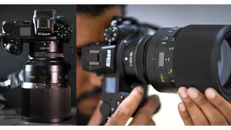 Первые живые фотографии нового Nikon 58 мм f/0,95