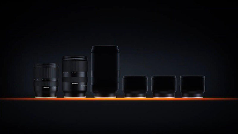 Тизер четырех полнокадровых объективов Tamron для Sony E-mount
