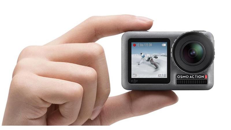 Первая экшн камера DJI: DJI Osmo Action