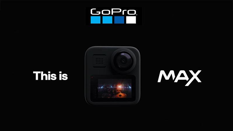 GoPro Max – новая экшн камеры для съемки 360-ти градусного видео