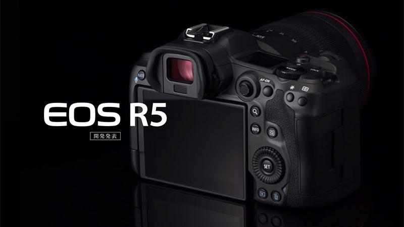 Canon анонсировала разработку EOS R5 с системой стабилизации и 8K видео