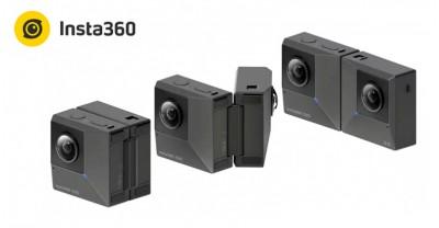 Insta360 EVO - это складная камера, которая снимает как 360°, так и 3D 180°