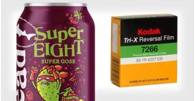 Пиво разработанное специально для проявки кинопленки Kodak Super 8