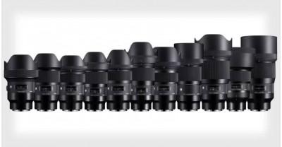 Компания Sigma выпустит 11 объективов серии Art с L-Mount
