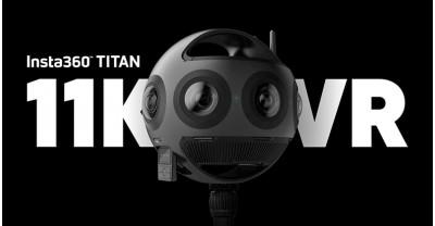 Insta360 Titan: 11K VR камера с восемью датчиками Micro 4/3