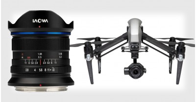Laowa 9mm f/2.8 от Venus Optics - самый широкоугольный объектив для камер/дронов DJI
