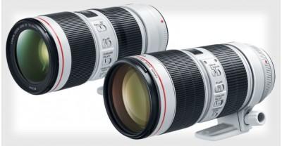 Компания Canon официально представила новые 70-200мм f/2.8L IS III и 70-200мм f/4L IS II