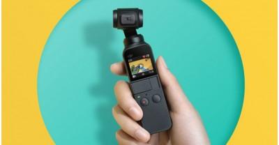 DJI Osmo Pocket: самая маленькая 4K камера в мире с 3-х осевым стабилазатором