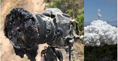 Canon 5DS расплавился во время запуска ракеты SpaceX Falcon 9