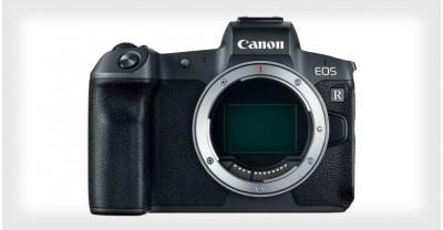 EOS R, первая полнокадровая беззеркальная камера Canon