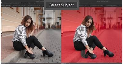 Новый инструмент «Select Subject», в Photoshop CC
