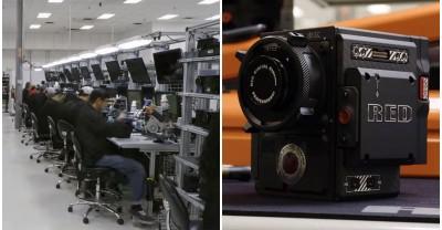 Вот как изготавливаются камеры RED