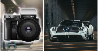 Фотосъемка автомобиля стоимостью $ 2,500,000 камерой за $ 50 000
