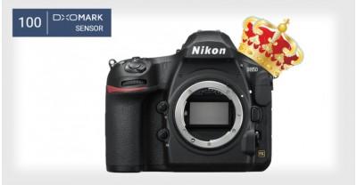 100 баллов в DxOMark, Nikon D850 лучшая DSLR камера