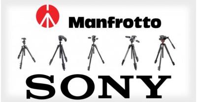Sony и Manfrotto объединяются для создания новых продуктов
