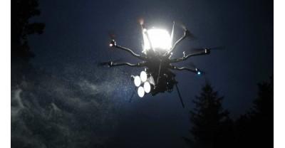 Этот короткометражный фильм был полностью снят с помощью освещения с дронов
