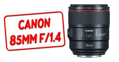 Canon анонсирует 85 мм f / 1.4L IS со стабилизацией