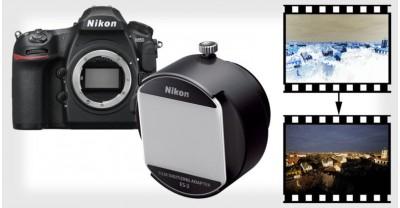 Nikon D850 Doubles 45,7-мегапиксельный сканер для пленки
