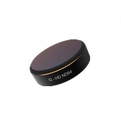 ND светофильтр для квадрокоптера DJI Phantom 4 Pro / Pro V2.0 / Advanced, PGYTECH HD ND 64