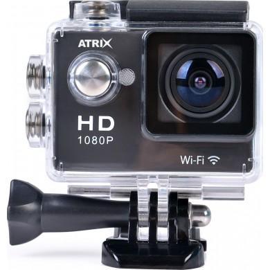 Экшн-камера ATRIX ProAction W9 Full HD Black